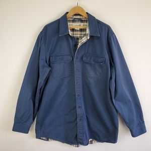 L.L. Bean flannel lined shirt